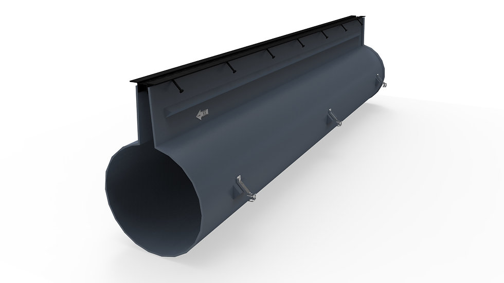 "21"" wide slotted drain"