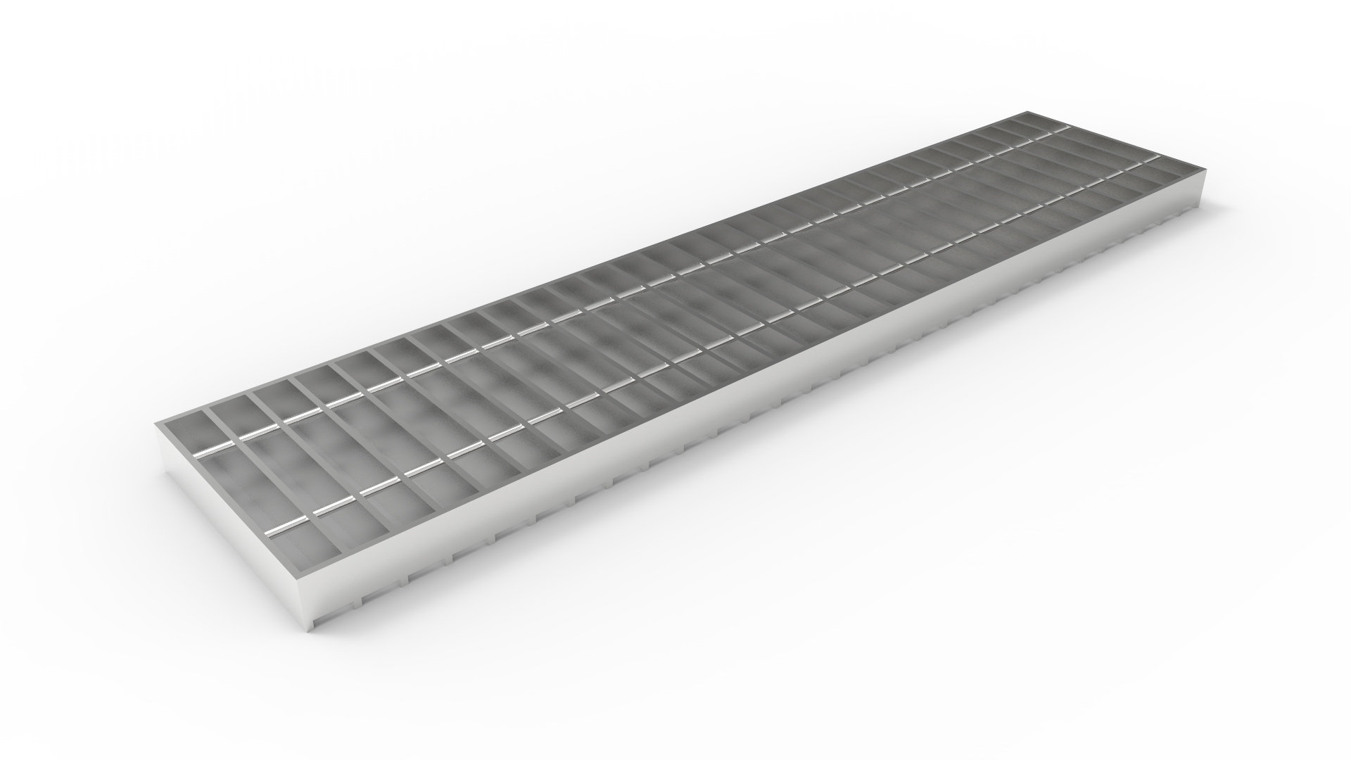 8 Quot Wide Stainless Steel Trench Drain Bar Grate Dura Trench