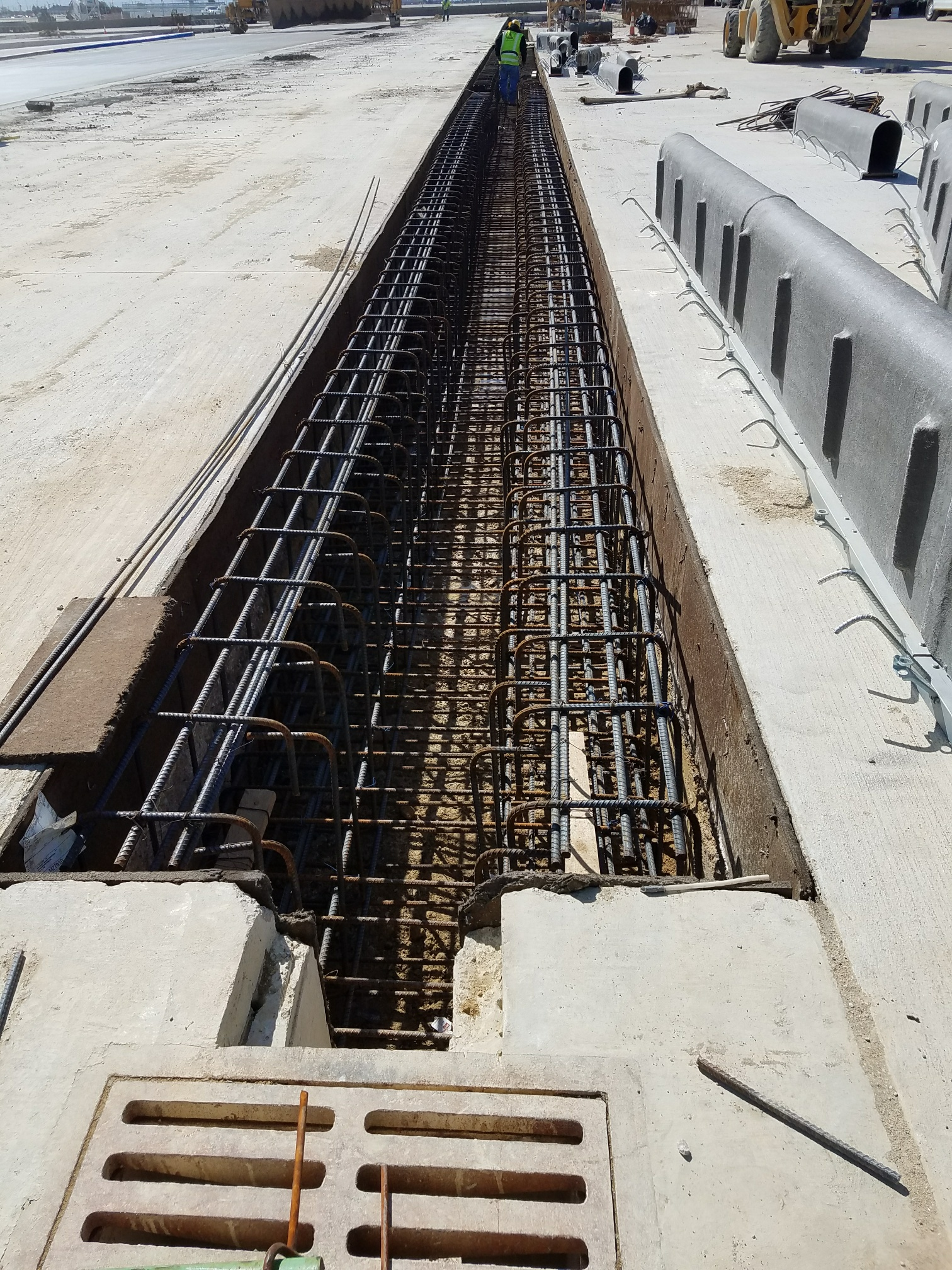 16 foot long trench drain sections
