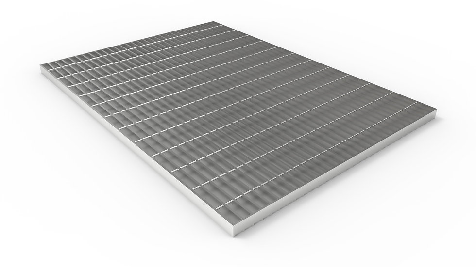 "50"" wide stainless steel trench drain bar grate"