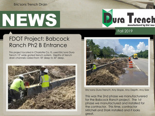 DuraTrench Fall Newsletter
