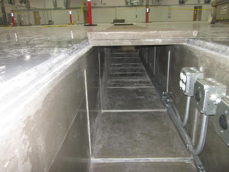 Non Metallic Utility trench