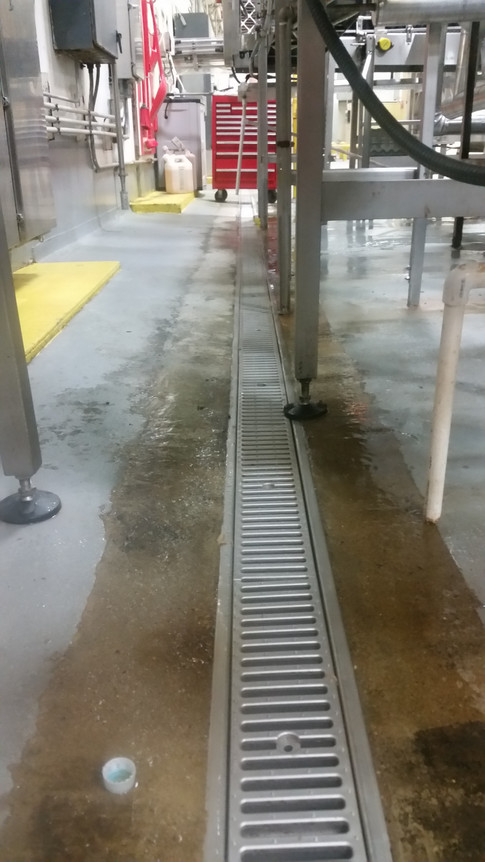 Stainless steel replacement trench drains