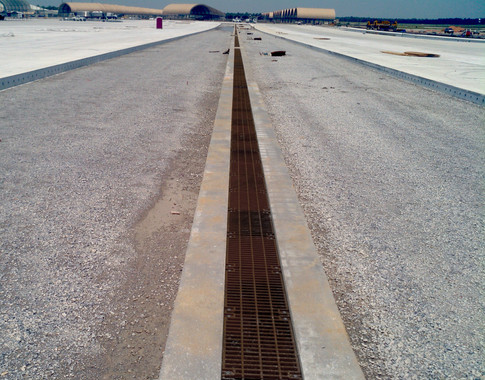 Trench drains for Eglin AFB, FL