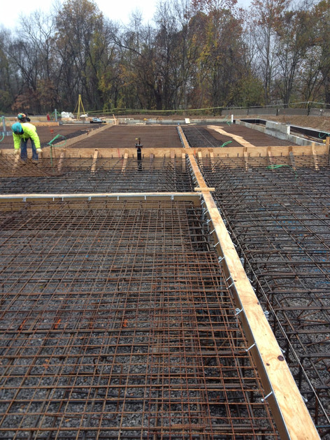 Power Plant trench drains