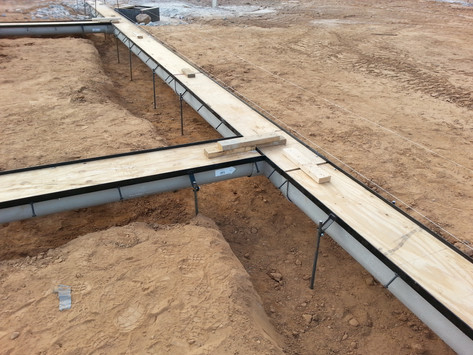Prefabricated trench drain layout