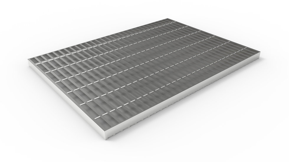 """26"""" wide stainless steel trench drain bar grate"""