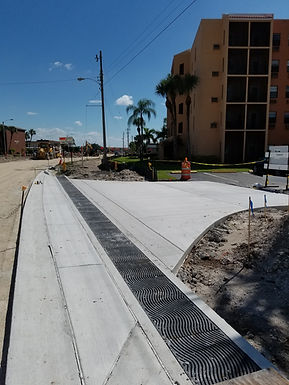 Trench Drains in Tampa, Florida