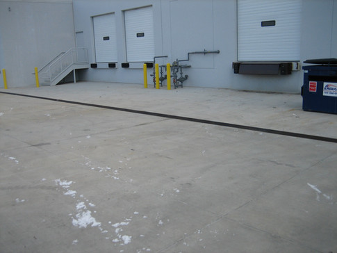 Loading areas with stairways