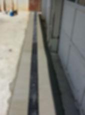 Residential driveway drain kit