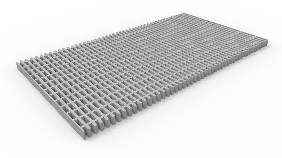 """26"""" wide pultruded fiberglass trench drain grate"""