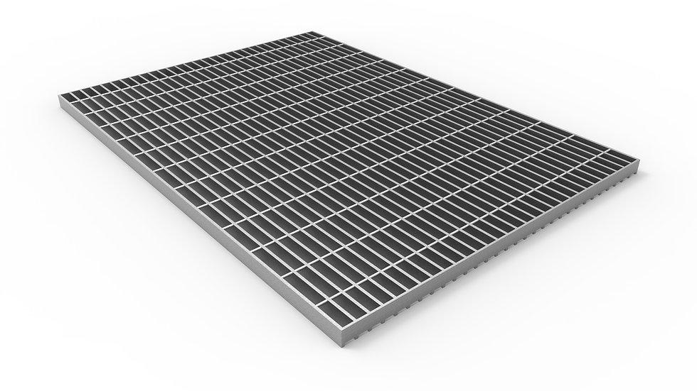 "50"" wide galvanized steel trench drain bar grate"