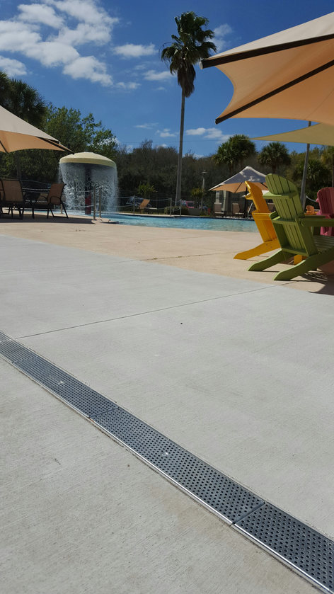 Subdivision pool and splash pad