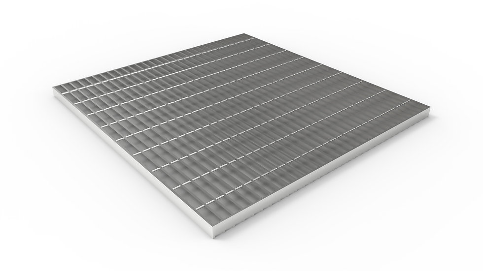 """38"""" wide stainless steel trench drain bar grate"""