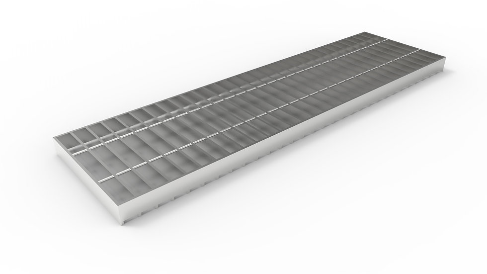 """10"""" wide stainless steel trench drain bar grate"""