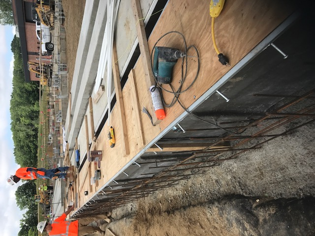 Utility trench construction