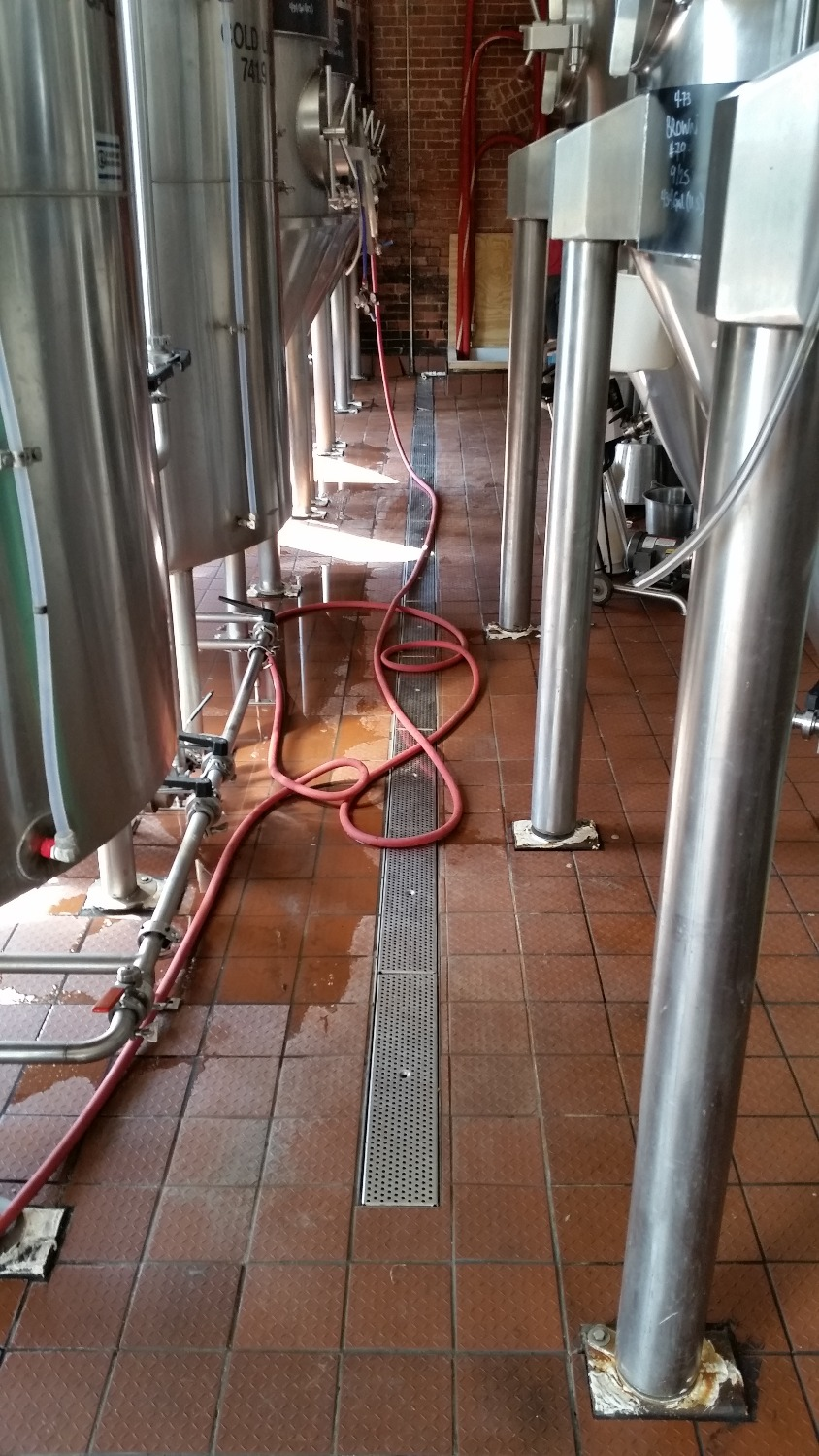 Brewery Stainless Trench Drain