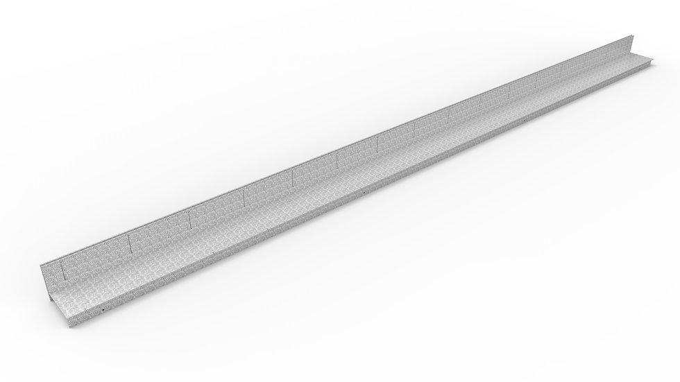 "5"" wide galvanized paver slot"