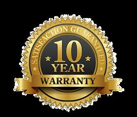 10 year driveway dran warranty