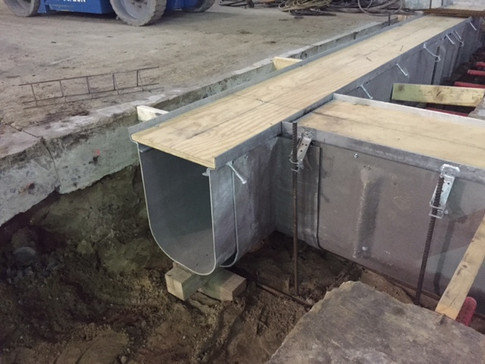 Double Containment trench drains