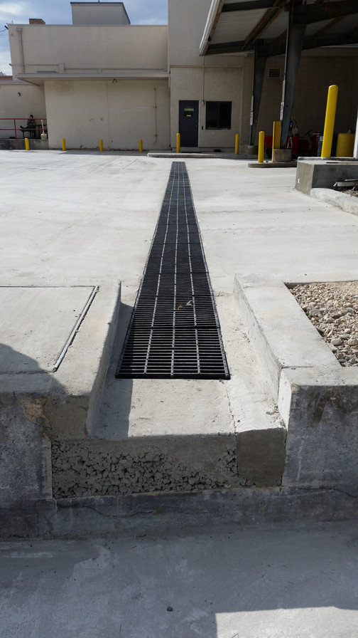 Truck Dock Trench Drains I Usa I Eric Sons Dura Trench