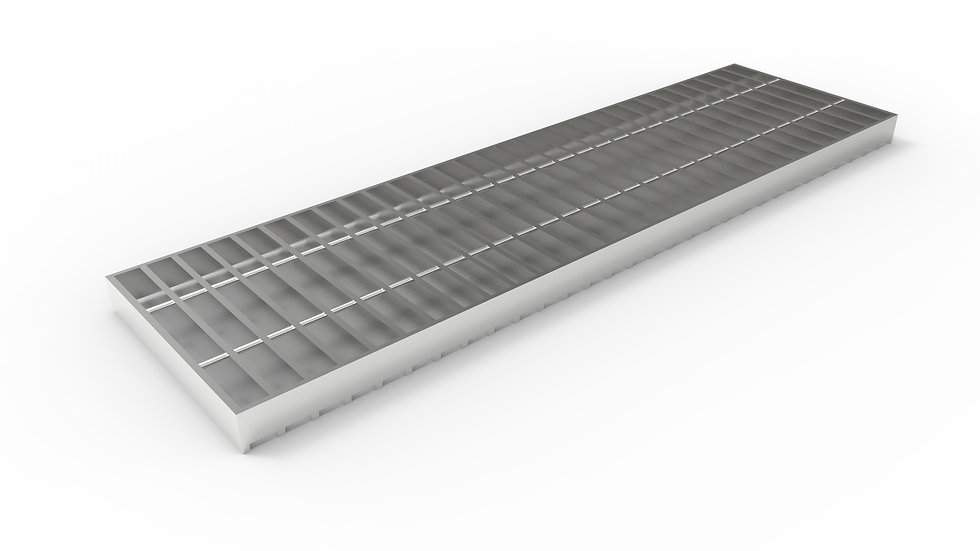 "10"" wide stainless steel trench drain bar grate"