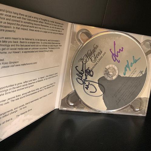Autographed Makaha Sons CD