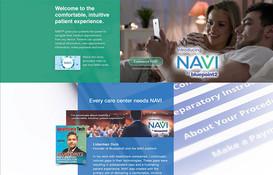 Bluepoint2 NAVI Product Demo Landing Page Design