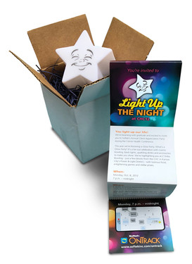 Light Up The Night Event Invitation
