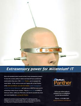 Softek - Extrasensory Ad Campaign