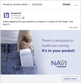 Bluepoint2 - Social Media Ad Campaign