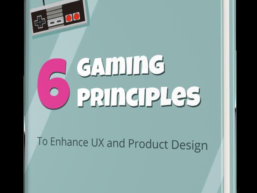 שישה עקרונות של עיצוב משחקים - ספר חדש