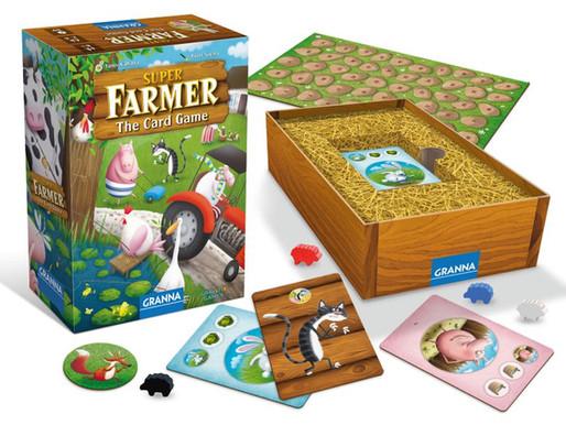 מספירת כבשים למשחק קלפים בחנות: תהליך העבודה על סופר פארמר משחק הקלפים