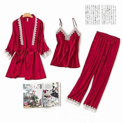 2019 New Japanese-style Chiffon Pajamas