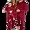 Thumbnail: Claret Red Adult Unisex Loungewear XS-XXL (UK4-24)