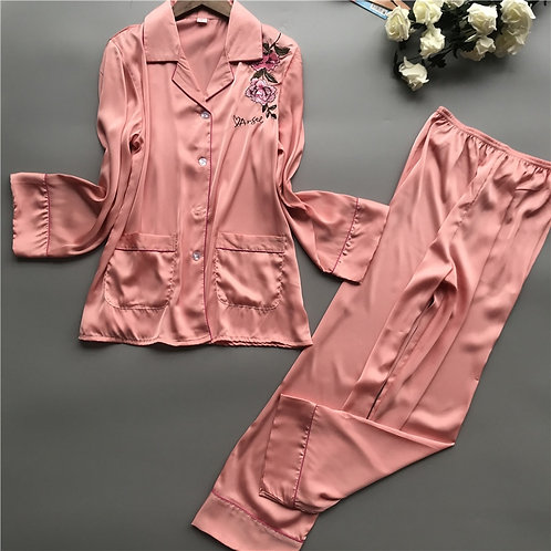 Women Pajamas Sets 2019 Summer Autumn Pyjama