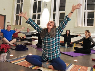 Candlelight Yoga & Music Charity Event a Big Success!