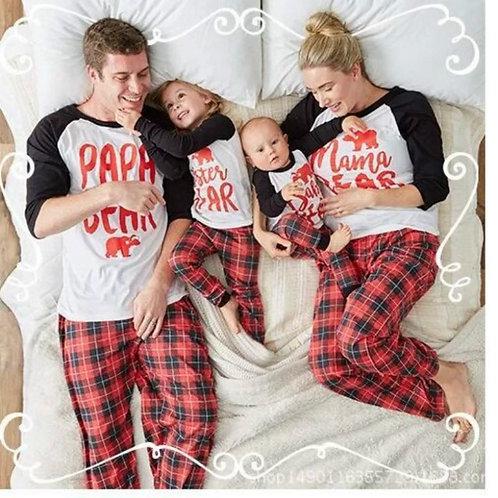 Couple Pajamas Winter Long Sleeve Christmas