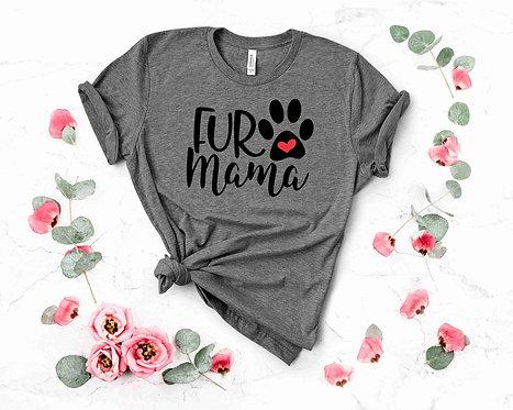 Graphic T-shirt-  Fur Mama