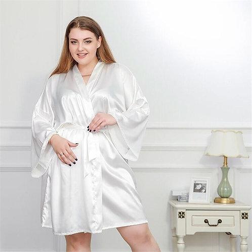 Large size nightdress clear rope pajamas