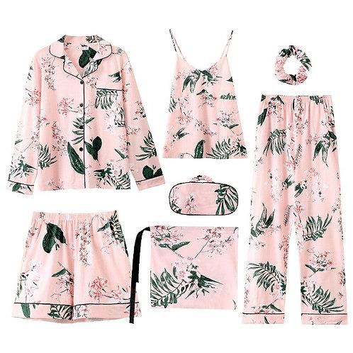 Sleep Lounge Princess Style Pajamas Women
