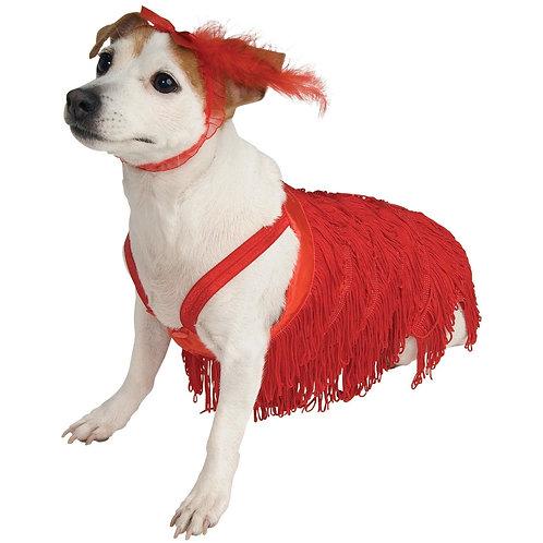 Flapper Dress Pet Costume