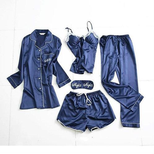 Women Pajamas Sets Satin Silk Pijama Nightwear