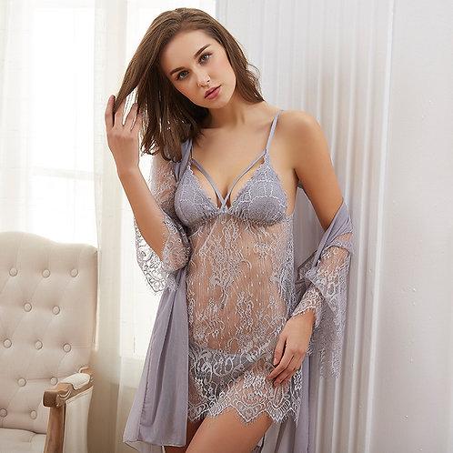 Women Pajamas Sexy Lace Lingerie Women