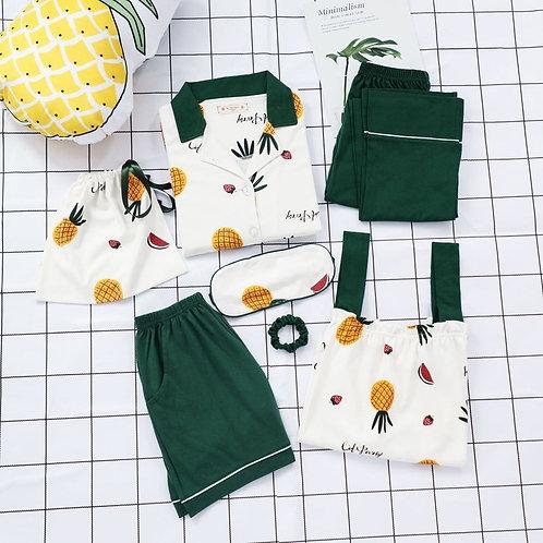 Ladies Pyjamas Summer Plus Size Pijamas