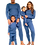 Thumbnail: Midnight Blue Adult Unisex Loungewear XS-XXL (UK4-24)