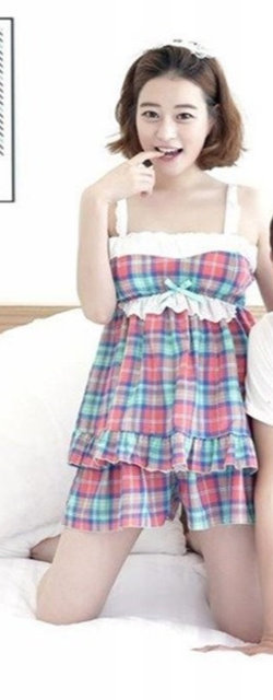 Summer Couple Pajamas Two Piece 2019 New