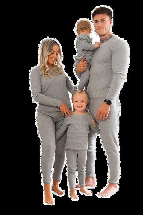 Dove Grey Adult Unisex Loungewear XS-XXL (UK4-24)