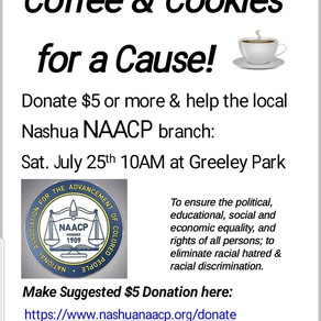 """""""Coffee + Cookies for a Cause"""" fundraiser, 7/25/20"""