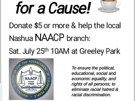 """Coffee + Cookies for a Cause"" fundraiser, 7/25/20"